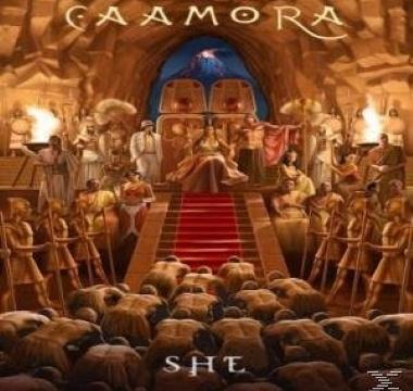CAAMORA - She (DVD)