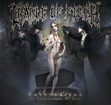 CRADLE OF FILTH - 2017 - Cryptoriana - The Seductiveness of Decay