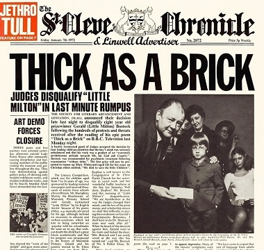 Jethro Tull - 1972 - Thick as a Brick
