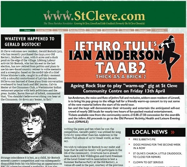 Jethro Tull's Ian Anderson - Thick as a brick 2