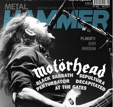 Metal Hammer - sierpień 2021